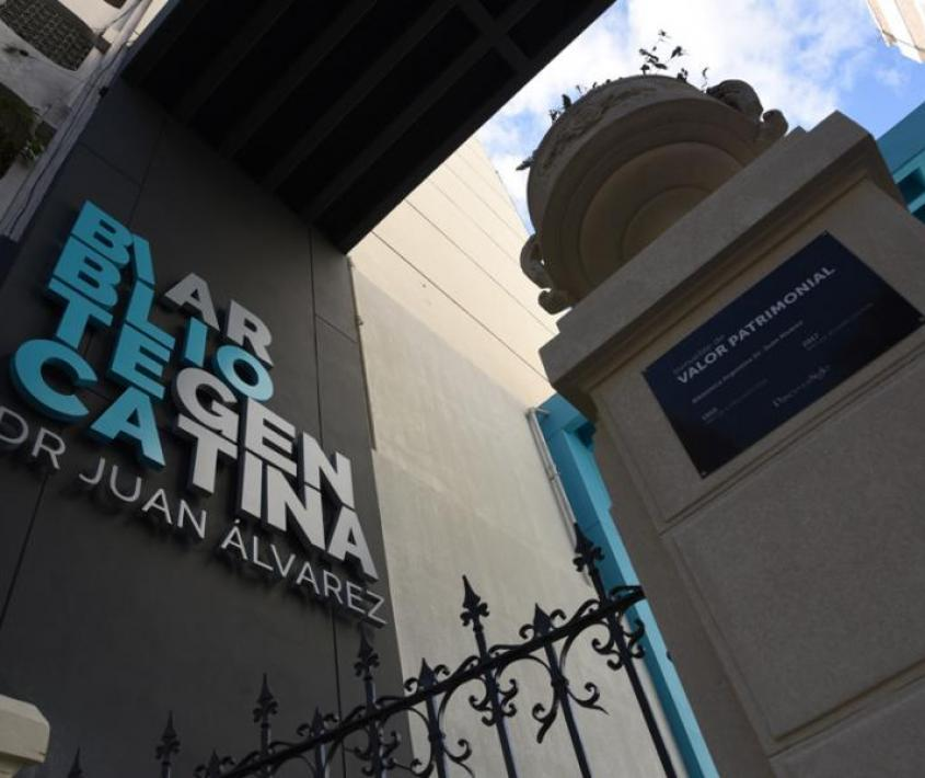 Reabre la sala de lectura principal de la Biblioteca Argentina