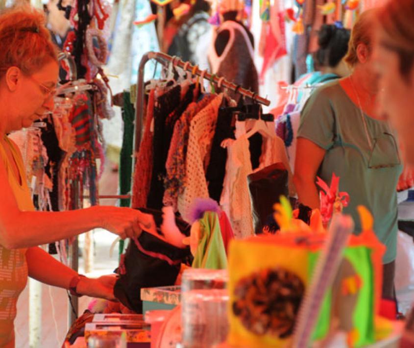 Feria Ecológica Plaza Alberdi