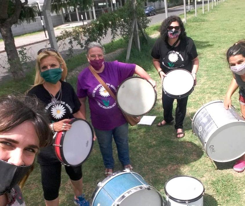 Proyecto Di Verso. Mujeres y percusión