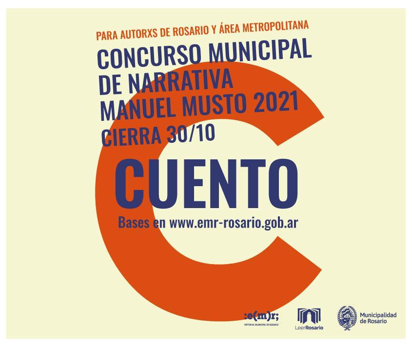 Concurso Municipal de Narrativa Manuel Musto 2021