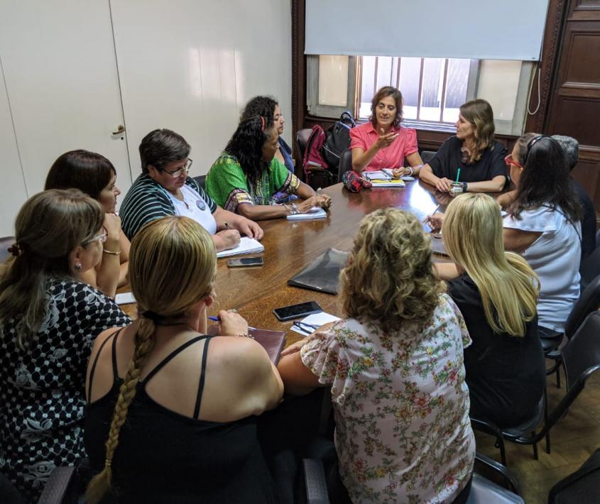 Violencia de género: Registro de Organizaciones que Acompañan