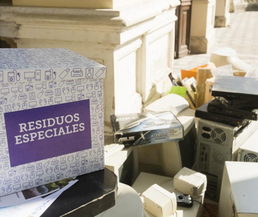 Recepción de residuos especiales en el Distrito Centro