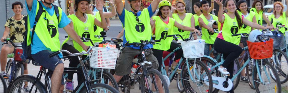 Escuela ciclista. Bicicleteada fin de año