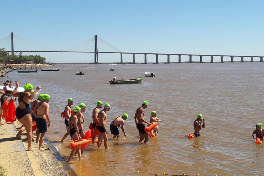 Maratón de aguas abiertas