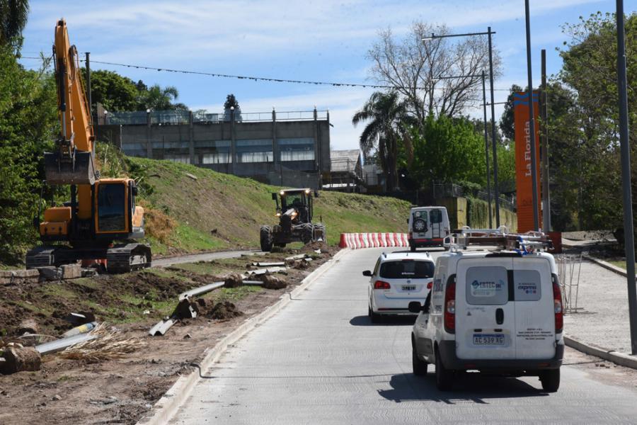 Obras en Avenida Carrasco