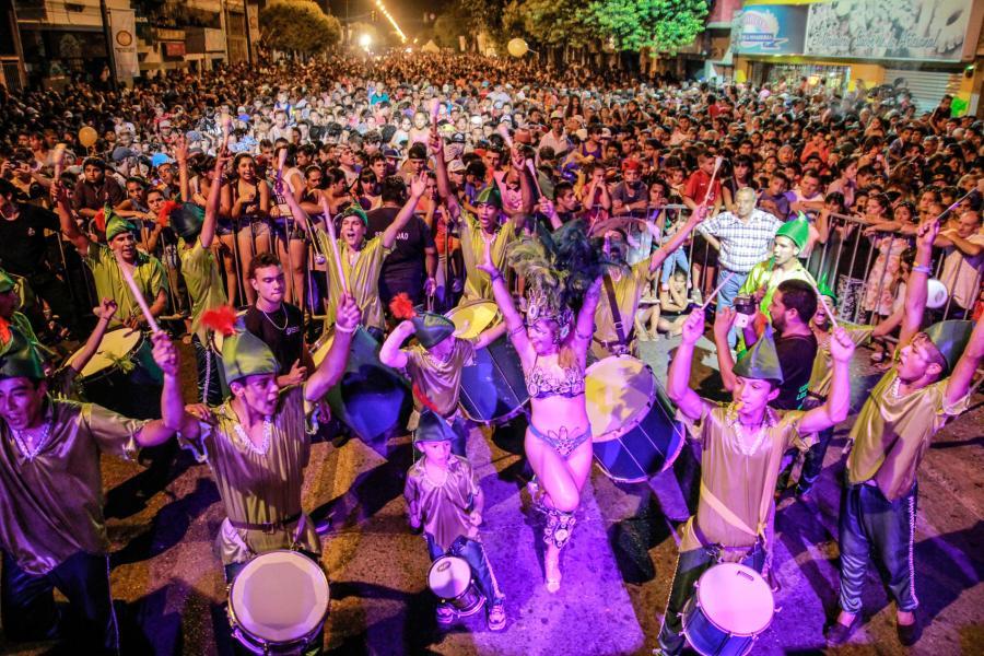Carnaval en Arijón y Pte. Roca