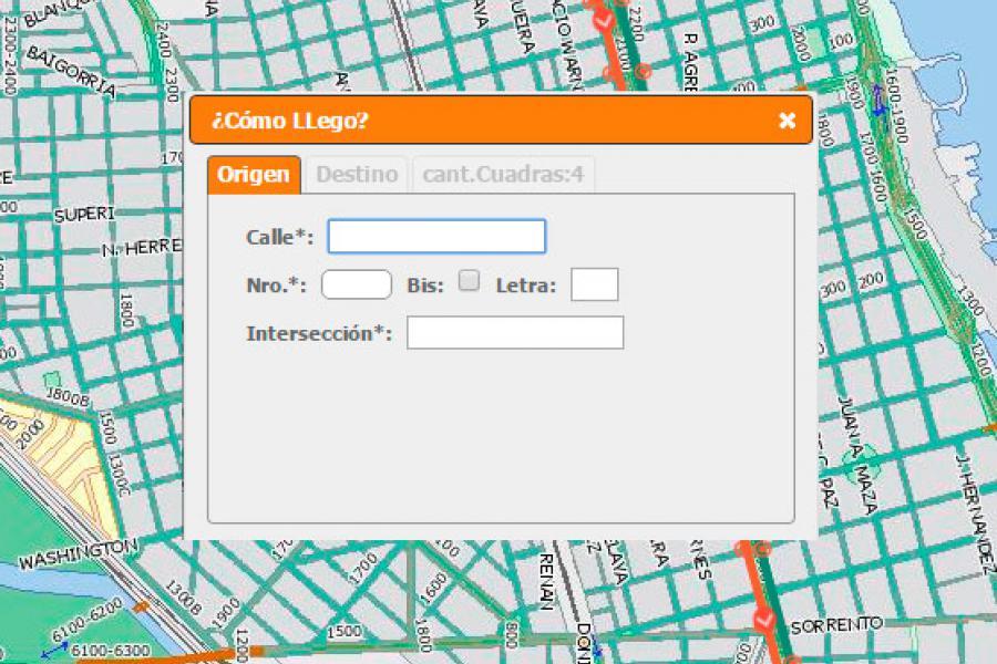 Incorporación de un sector de barrio Sorrento a InfoMapas