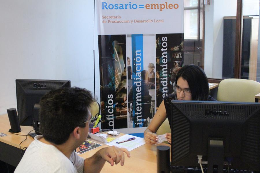 Oficinas de empleo en los distritos