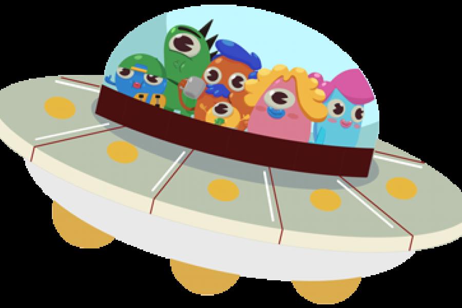 Los Omblis en su nave