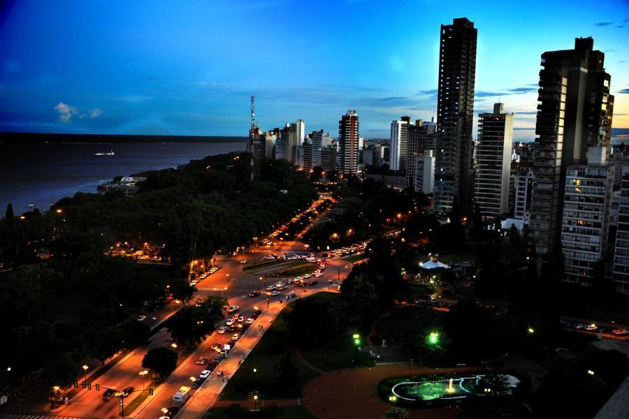 Vista aérea de Avenida Belgrano