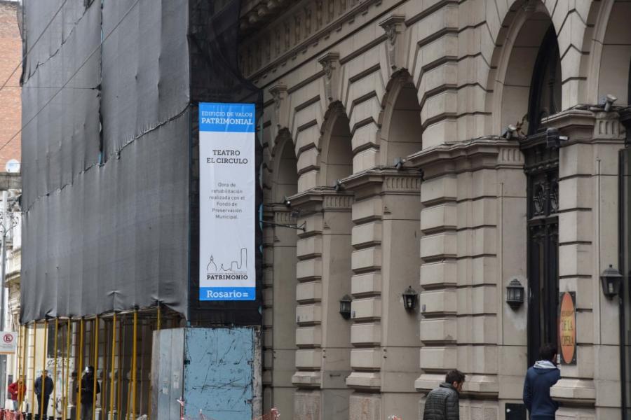 fachada en remodelación