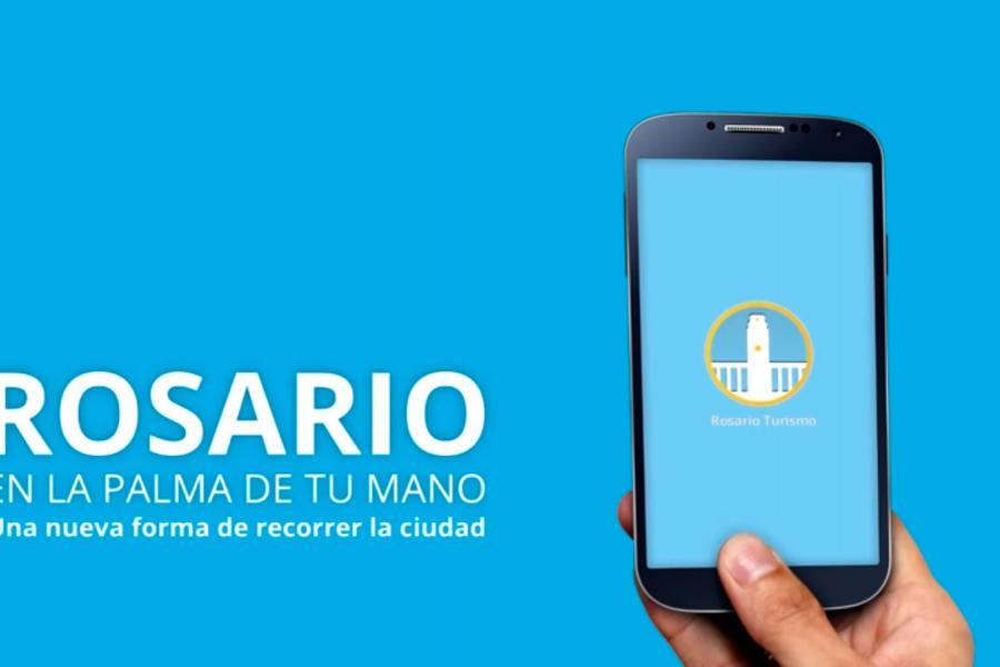 Imagen de la aplicación para celulares de Turismo Rosario