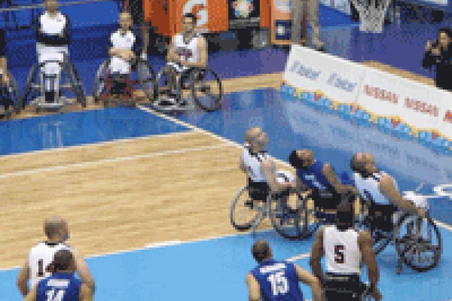 Deporte adaptado básquet