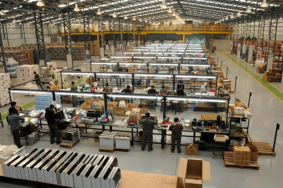 fabrica linea de producción