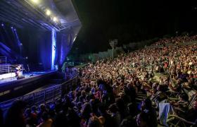 Espectáculo nocturno en el Anfiteatro