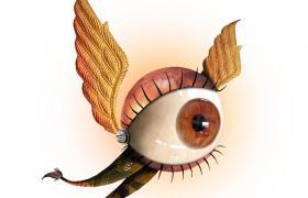 Ojo con alas