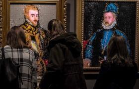Muestra Los cuadros robados en Museo Estevez