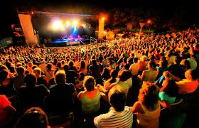 Espectáculo en el Anfiteatro