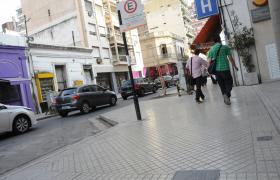 Nuevas veredas en calle Entre Ríos
