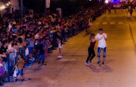 carnaval baile desfile