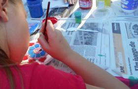 Arte para niños en Casa de Cultura Barrio Alvear