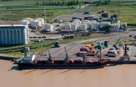 exportaciones en puerto