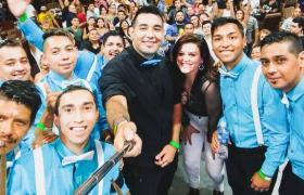 grupo de cumbia Delirantes Rosario