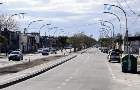 Así quedó la avenida Francia tras las obras de pavimentación