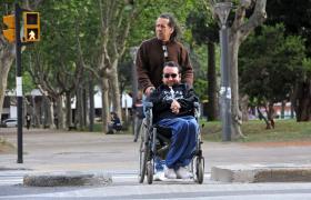 persona con discapacidad física