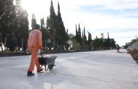 Obras doble traza avenida de la costa