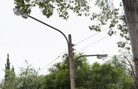 Luminarias en los barrios
