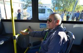 El transporte urbano de pasajeros cuenta con servicios accesibles