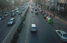Movilidad en Av. Pellegrini