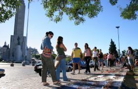 Feria paños al piso