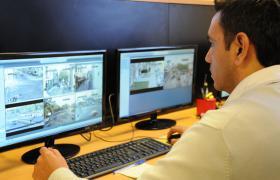 Centro de monitoreo de vigilancia