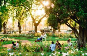 Rosedal del Parque Independencia