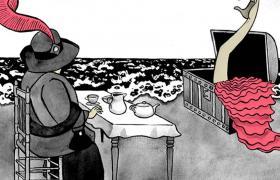 Ilustración de baile flamenco