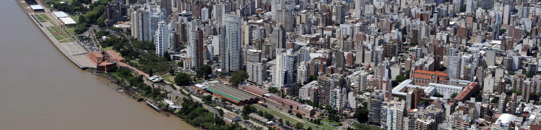 Rosario - vista aerea