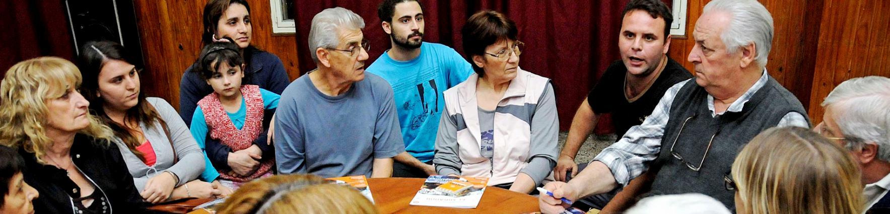 Asamblea Barrial del Presupuesto Participativo en el club Onkel