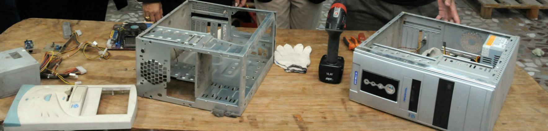 Capacitación tecnológica reciclado informático