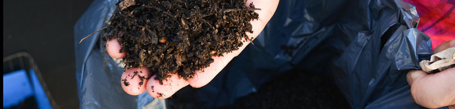 Producir compost hogareño