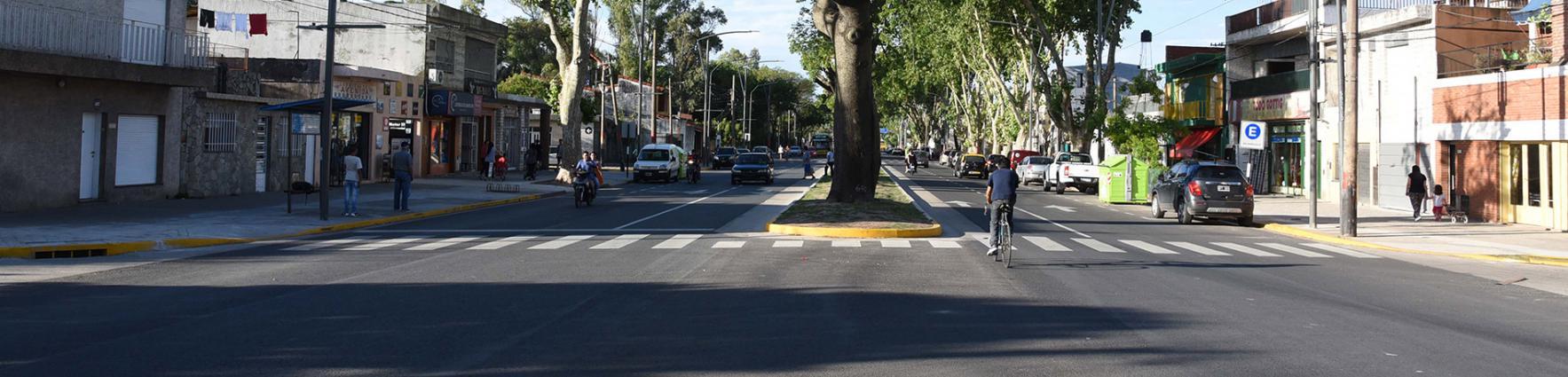 Remodelación Av. San Martín