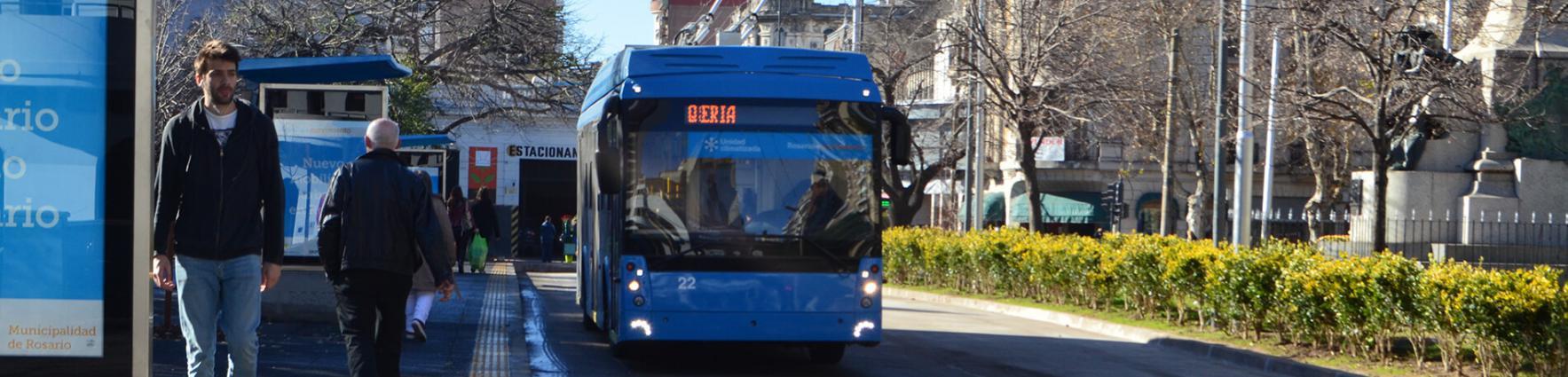 Transporte urbano de pasajeros. Línea Q