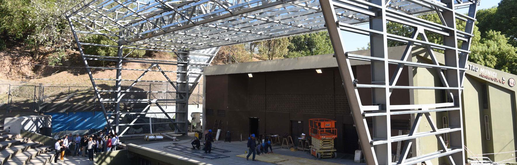 Remodelación Anfiteatro