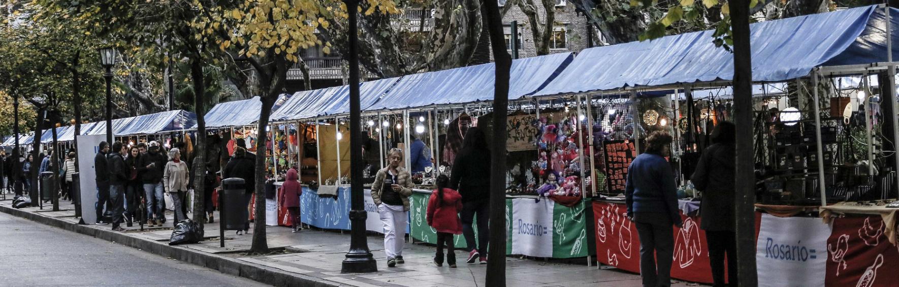 Ferias de Plaza Pringles